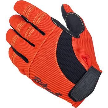 Biltwell Moto Gloves - Orange/Black/Yellow