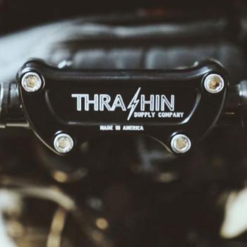 Thrashin Supply Handlebar Top Clamp for Harley - Twice Cut