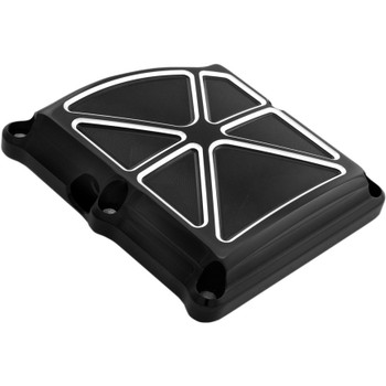 Performance Machine Formula Transmission Top Cover for 2017-2018 Harley Touring - Contrast Cut