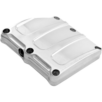 Performance Machine Scallop Transmission Top Cover for 2017-2018 Harley Touring - Chrome