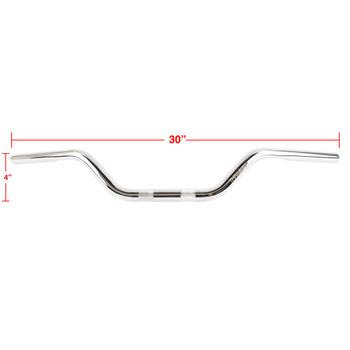 "Thrashin Supply Mid Bend Bars 1"" Handlebars - Chrome"