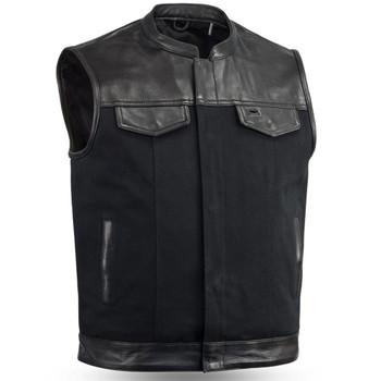 First Mfg. 49/51 Vest w/ Collar