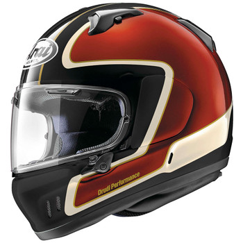 Arai Defiant-X Outline Helmet - Red