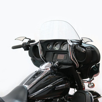 """Paul Yaffe Bagger Nation 10"""" Monkey Bagger Bars for 1986-2018 Harley Touring - Chrome"""