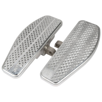 Thrashin Supply Mini Floorboards Foot Pegs for Harley - Silver