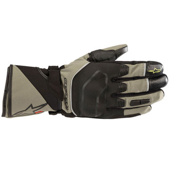 Alpinestars Andes Touring Outdry Gloves - Military Green/Black