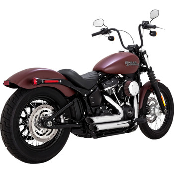 Vance & Hines Shortshots Staggered Exhaust for 2018 Harley Softail - Chrome