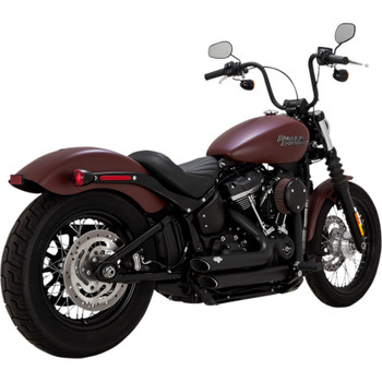 Vance & Hines Shortshots Staggered Exhaust for 2018 Harley Softail - Black