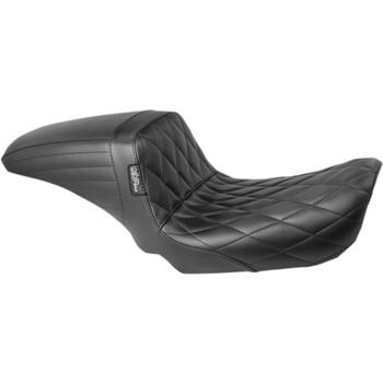 LePera Diamond Kickflip Seat for 2006-2017 Harley Dyna