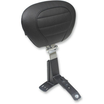 Mustang Super Touring Deluxe Driver Backrest for 1997-2007 Harley Touring
