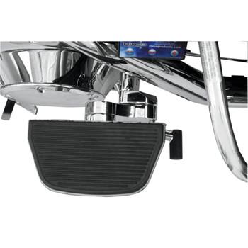 Rivco Adjustable Passenger Floorboard Mounts for Harley Touring - Chrome