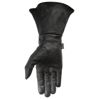 Thrashin Supply Gaunlet Siege Gloves - Black