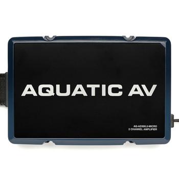 Aquatic AV Harley-Davidson 2 Channel Amplifier for 2014-Up Harley Touring