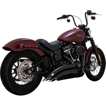 Vance & Hines Big Radius Exhaust for 2018 Harley Softail - Black
