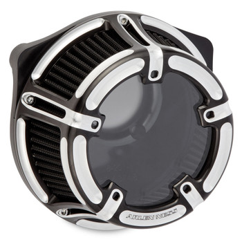 Arlen Ness Method Clear Series Air Cleaner for 1991-2018 Harley Sportster - Contrast