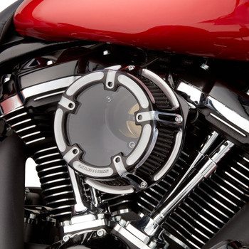 Arlen Ness Method Clear Series Air Cleaner for 2008-2017 Harley* - Contrast