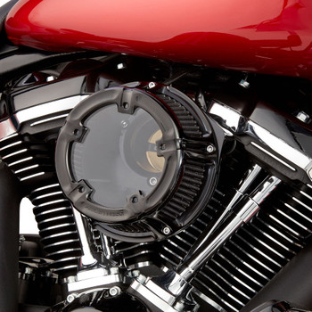 Arlen Ness Method Clear Series Air Cleaner for 1991-2018 Harley Sportster - Black