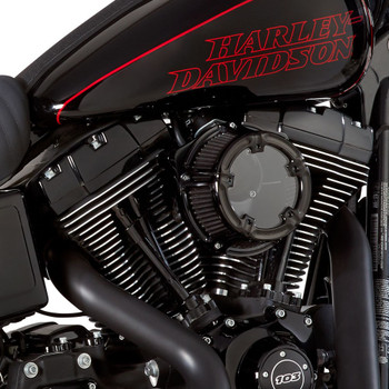 Arlen Ness Method Clear Series Air Cleaner for 1999-2017 Harley* - Black
