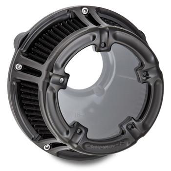 Arlen Ness Method Clear Series Air Cleaner for 2008-2017 Harley* - Black