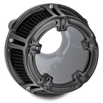 Arlen Ness Method Clear Series Air Cleaner for 2017-2018 Harley Touring - Black