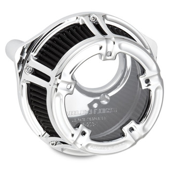 Arlen Ness Method Clear Series Air Cleaner for 1999-2017 Harley* - Chrome