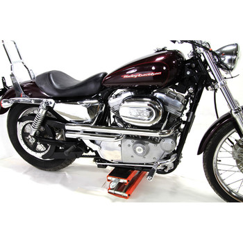 V-Twin Mfg. Shotgun Style Exhaust for 2004-2018 Harley Sportster - Chrome
