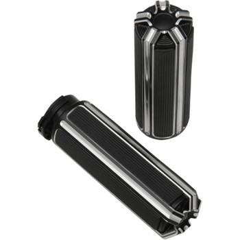 Arlen Ness 10-Gauge Grips for Harley - Black