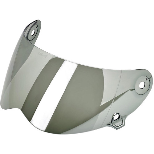 Biltwell Lane Splitter Shield - Chrome Mirror
