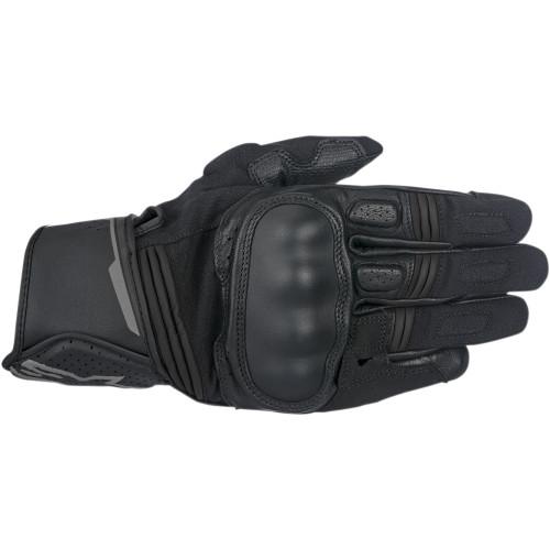 Alpinestars Booster Leather Gloves - Black/Anthracite