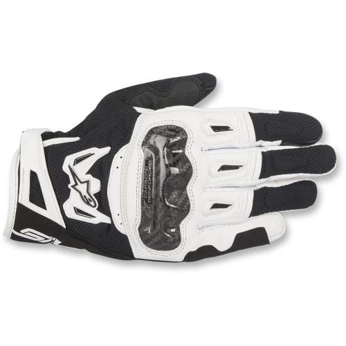 Alpinestars SMX-2 Air Carbon V2 Gloves - Black/White