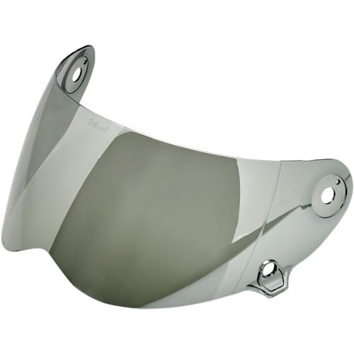 Biltwell Lane Splitter Antifog Shield - Chrome Mirror