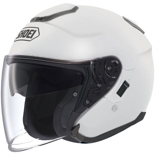 Shoei J-Cruise Open Face Helmet - White