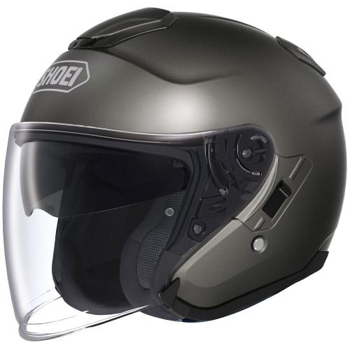 Shoei J-Cruise Open Face Helmet - Anthracite Metallic