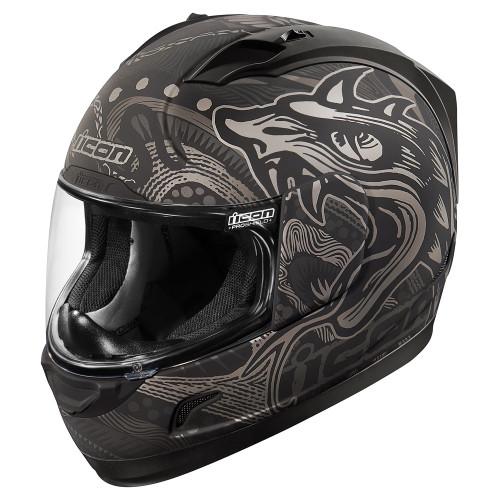 Icon Alliance Black Oro Boros Helmet