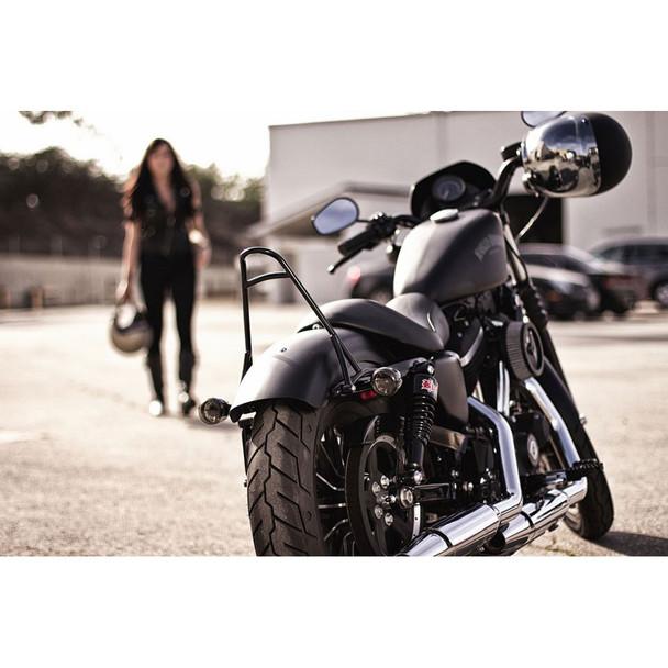 Burly Short Sissy Bar for 2004-2016 Harley Sportster
