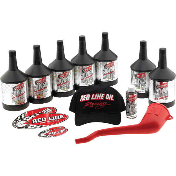 Red Line Power Pack Oil Change Kit for Harley