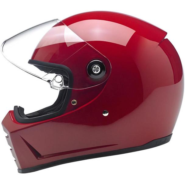 Biltwell Lane Splitter Helmet - Gloss Blood Red