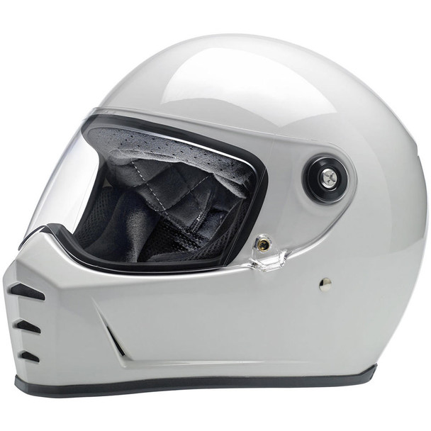 Biltwell Lane Splitter Helmet - Gloss White