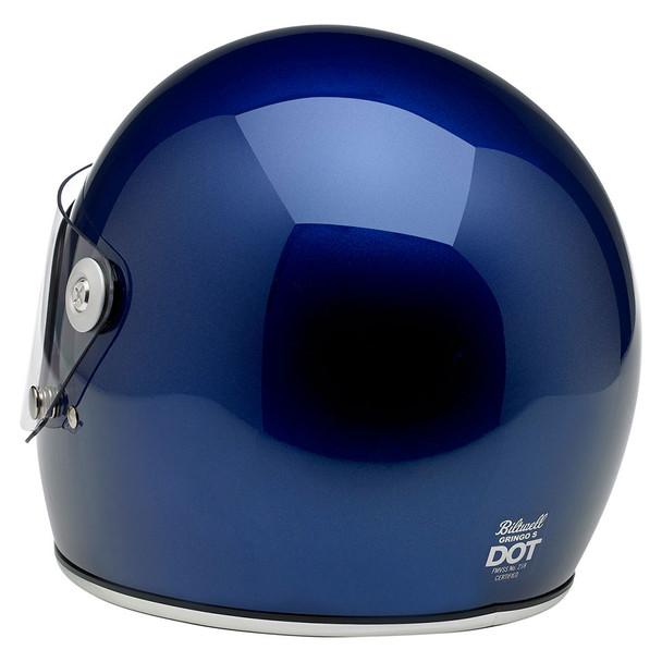 Biltwell Gringo S Helmet - Gloss Metallic Navy
