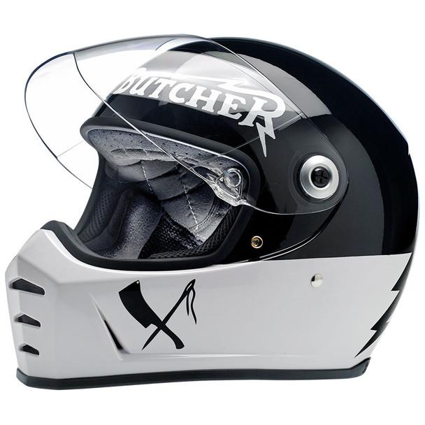 Biltwell Lane Splitter Helmet - Rusty Butcher