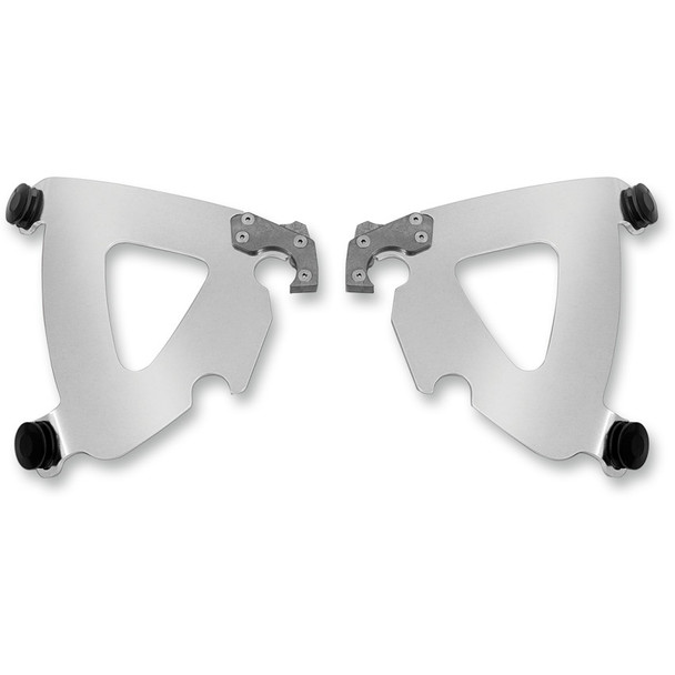 Memphis Shades Plate Only Mount Kit for Harley Dyna w/ Road Warrior Fairing