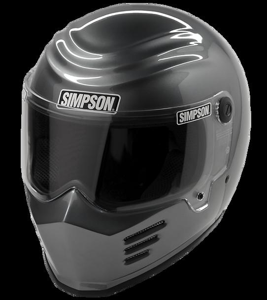 Simpson Outlaw Bandit Helmet - Gunmetal
