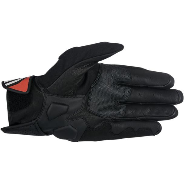 Alpinestars Booster Leather Gloves - Black/Red