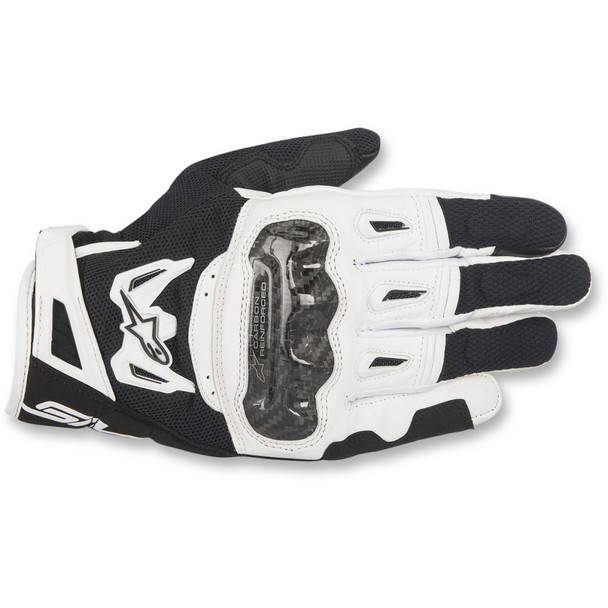 Alpinestars SMX-2 Air Carbon V2 Gloves - Black/White