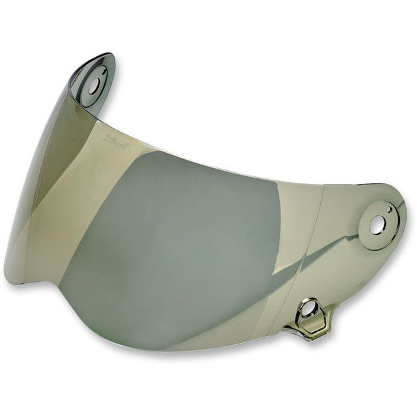 Biltwell Lane Splitter Shield - Gold Mirror