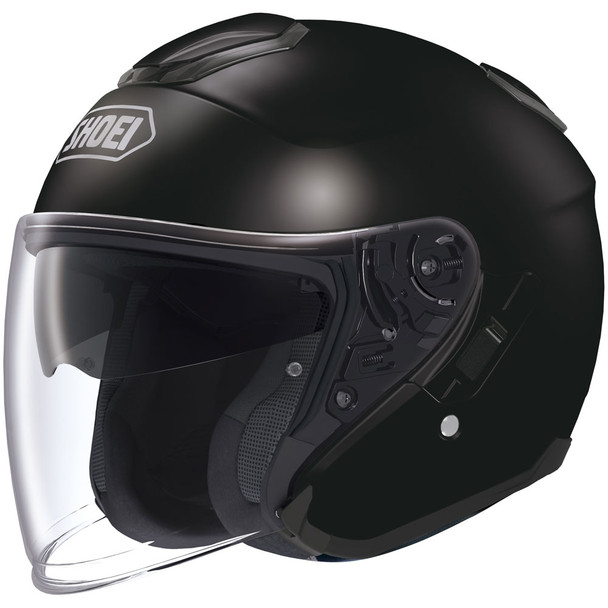 Shoei J-Cruise Open Face Helmet - Black