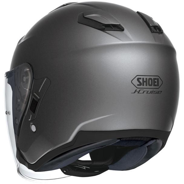 Shoei J-Cruise Open Face Helmet - Matte Deep Grey