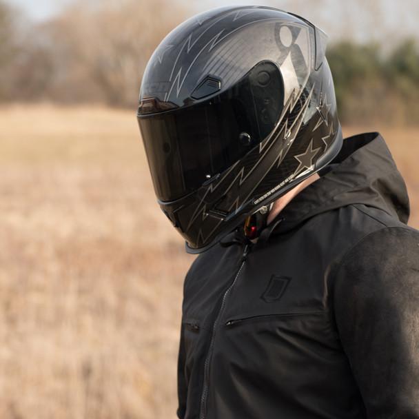 Icon Airframe Pro Warbird Helmet - Black