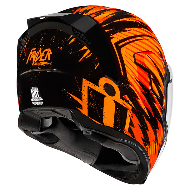 Icon Airflite Fayder Helmet - Orange