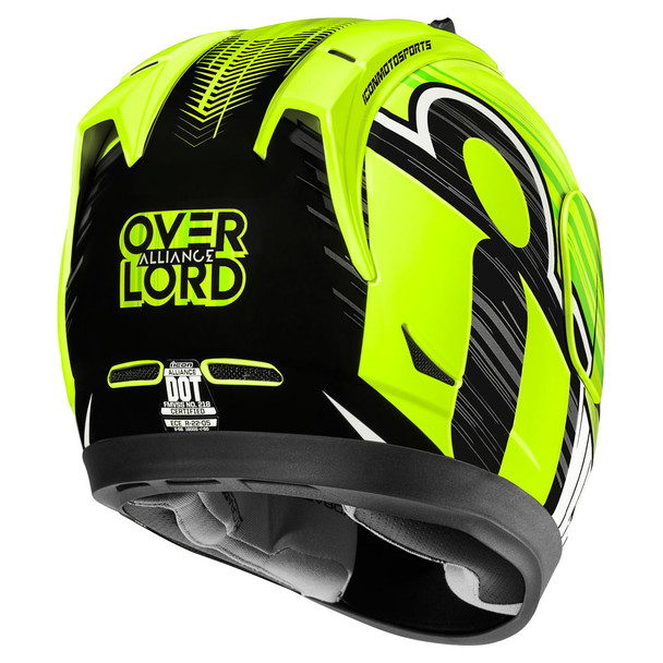 Icon Alliance Overlord Helmet - Hi Viz